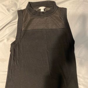 Guess crop top tank top